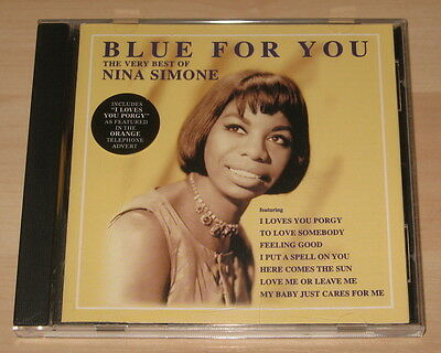 Nina Simone - Blue For You ... The Very Best Of Nina Simone (CD 1997). Ex Cond