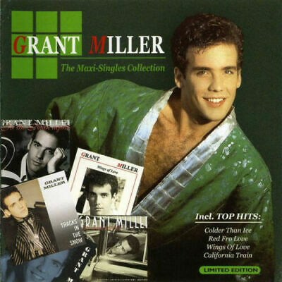 Grant Miller - The Maxi-Singles Collection (Remastered)(AUDIO CD in JEWEL CASE)