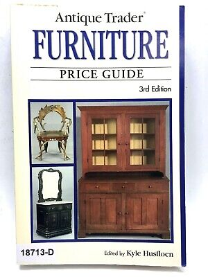 Antique Trader FURNITURE Reference & Price Collectors Guide 3rd Edtn SC BOOK