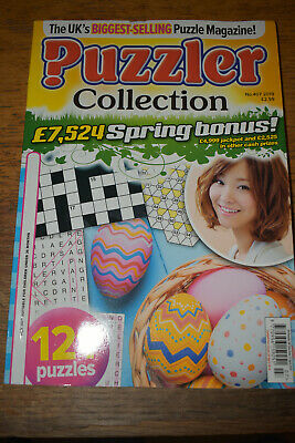 Puzzler Collection Magazine No.407 - 2019 - brand new