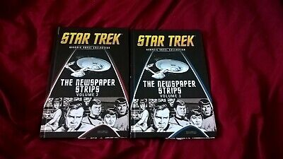star trek graphic novel collection the newspaper strips volume 2 & and 3