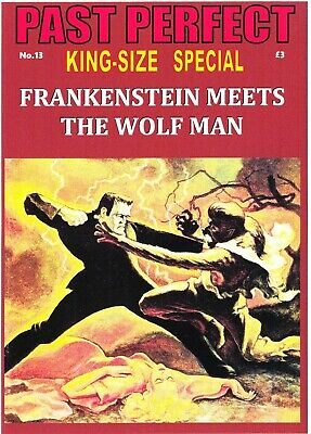 Past Perfect King-Size Special #13 Frankenstein Meets The Wolfman Fantastic