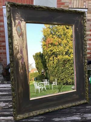 Beautiful Antique French Mirror - Gilt Plaster Frame with Acanthus Leaf Detail