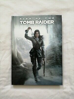 Rise Of The Tomb Raider Limited Edition Official Strategy Guide Book - Hardback