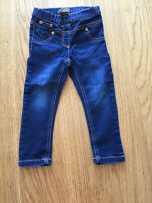 Girls Next Denim Jeggings 18-24 Months *i'll Combine Postage*