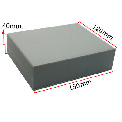 120*150*40mm Gray Junction Box Plastic Case DIY Waterproof Box Electronic Case