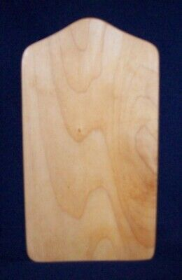 Restaurant Equipment Bar Supplies USED SMALL OBLONG WOOD CUTTING CHOPPING BOARD