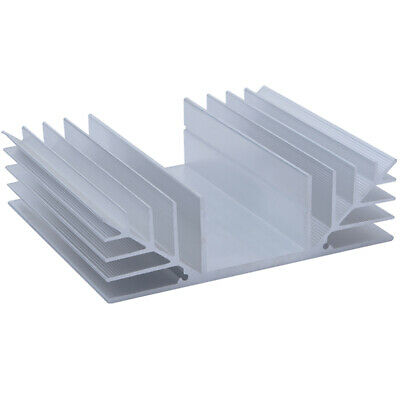 100*115.8*32.8mm Anodized Aluminium Heat Sink For Power Transistor TO-126 TO-220