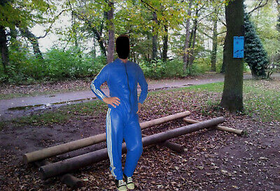 Latex Rubber Gummi PVC Jacke Shirt Latexanzug Latexjacke Raincoat Jogginganzug