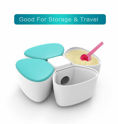 Milk Powder Baby Formula Food Snacks Dispenser Detachable Travel Container