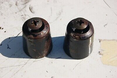 GPZ 600 bar end weights - pair of - complete with bolts