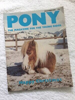 PONY The Magazine For The Young Rider. DECEMBER 1980. *VGC*.