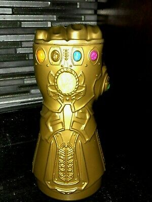 AVENGERS End Game THANOS GAUNTLET mexican PROMO CUP 16oz NEW MOVIE CINEMAGIC