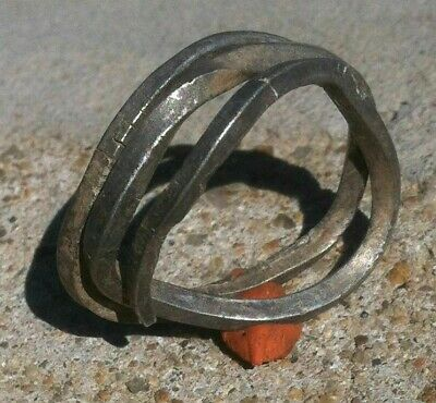 Silver Celtic Whire  Ring Rare