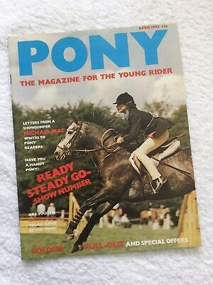 PONY The Magazine For The Young Rider. APRIL 1982. *EXCELLENT CONDITION*.