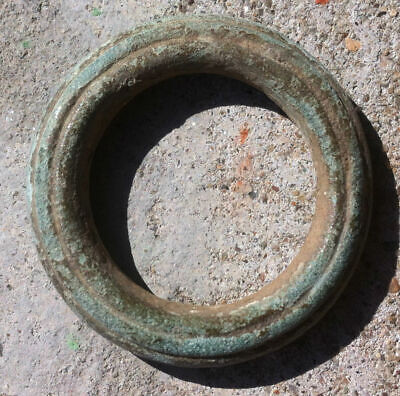 "Ancient Celtic Proto Money Bronze Ring ""Coin""  Rare"