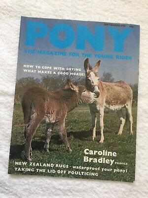 PONY The Magazine For The Young Rider. SEPTEMBER 1981. *VGC*.
