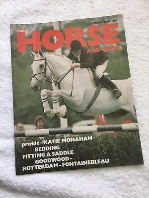 LIGHT HORSE AND RIDER Magazine. OCTOBER 1980. *EXCELLENT CONDITION*.