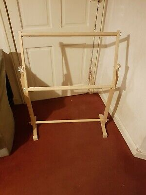 Embroidery frame floor standing. in excellent used condition