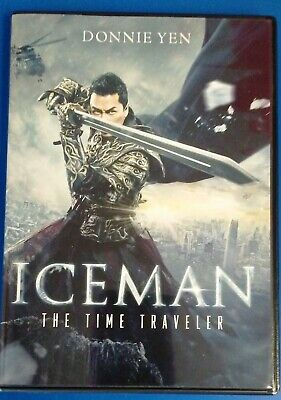 Iceman: The Time Traveler (Hong Kong Martial Art Movie) NEW, but opened - DVD