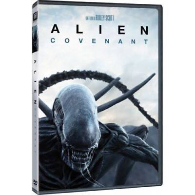 DVD Nuovo sigillato film ALIEN:COVENANT DI RIDLEY SCOTT  versione italiana new