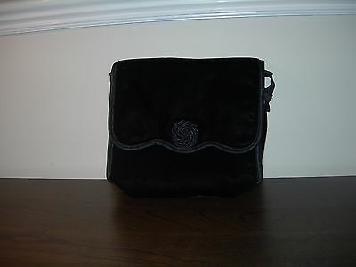 Marks & Spencer St Michael Women's Ladies Handbag Soft Sachet Black Colour