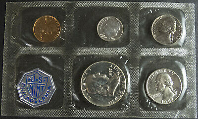 Sealed  Set Of 1957 Proof Coins From Philadelphia Mint