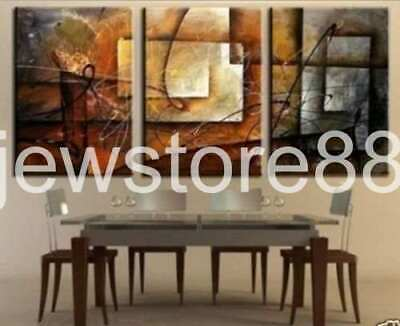 3 pieces together Large Modern Abstract Huge Art Oil Painting Canvas(No frame)