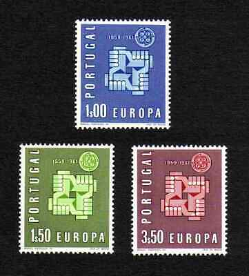Portugal 1961 Europa complete set of 3 values (SG 1193-1195) MNH
