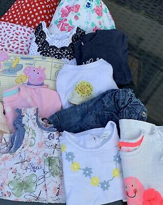 Baby girls Summer clothes bundle 12 - 18 Months Debenhams, Pumpkin Patch, H&M