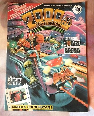 2000AD Sci-Fi Special - 1984 - Very Good Condition