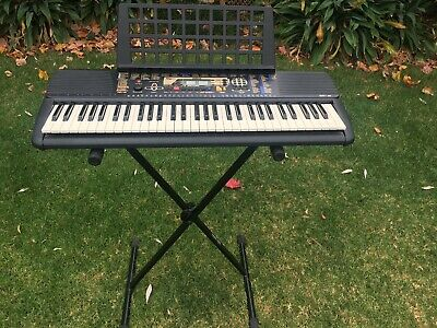 Yahama Electronic Keyboard PSR 195 (with stand, instruction manual & song book)