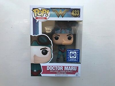 Boxed Funko Pop Vinyl Dc Doctor Maru #433 Figure Heroes Series Wonder Woman