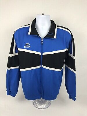 Men's Vintage Kelme Futbol Full Zip Sweatshirt Size Medium