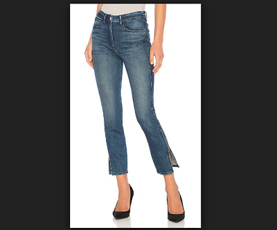 cac8655f4fc Anthropologie New 3x1 High Rise Higher Ground Crop Zipper Skinny Jeans Size  27 4