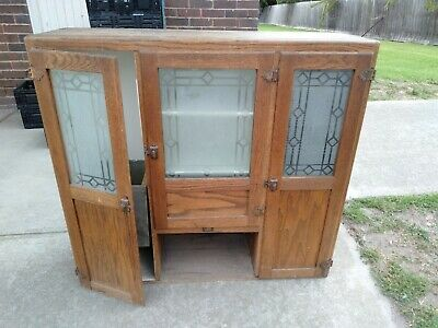 Vintage Kitcheneed by sellers  Elwood Indiana USA Antique bakers Cabinet Kitchen