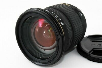 SIGMA AF 18-50mm F/2.8 EX DC Macro for Nikon w/Hood From Japan [READ] [4296]