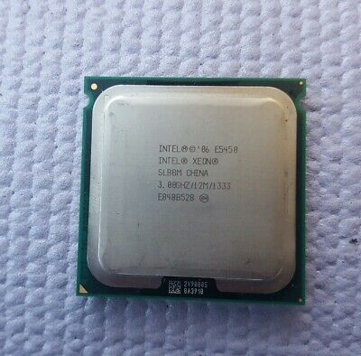 Intel Xeon CPU E5450 SLBBM 3.0GHz 12MB Cache