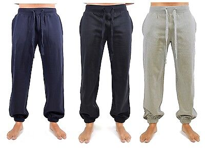 Mens Jogging Bottoms / Lounge Pants with Elasticated Ankles