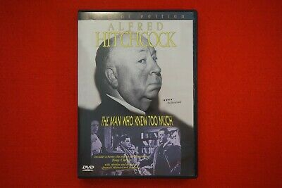 The Man Who Knew Too Much - DVD - Free Postage !!