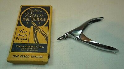 Vintage The New Resco Nail Trimmer Your Dog's Friend TELCA COMPANY Detroit, MI