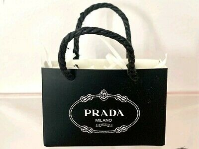 Coles Little Shop Mini Collectables - Mini PARDA Black Shopping Bag