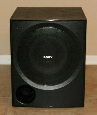 Sony SA WP780 80W Active Powered Subwoofer System In Black