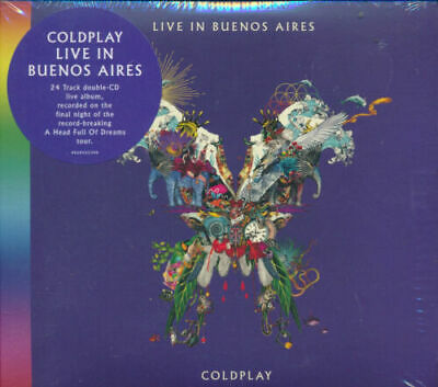 Coldplay - Live in Buenos Aires  2CD   New CD Sealed SALE BARGAIN