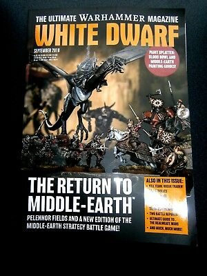 White Dwarf Magazine September Issue (new) 2018