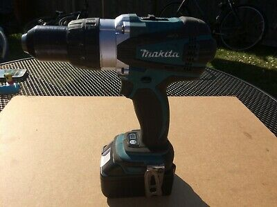 Makita BHP458 18V Drill - nearly new condition - Body only.