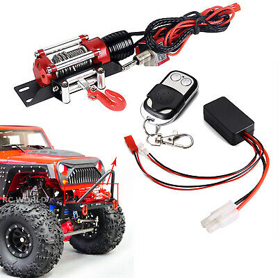 For 1/10 RC Car Axial SCX10 TRX4 D90 Winch Wireless Remote Controller Receiver