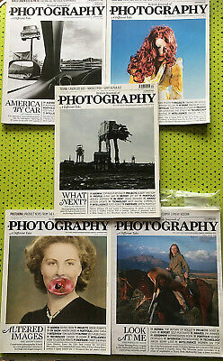 British Journal of Photography Magazine 2010 5 issues August - December bundle