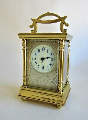 "A superb 1900 ""Boite Chinoise"" style 8 Day Carriage Clock timepiece. Gorgeous."