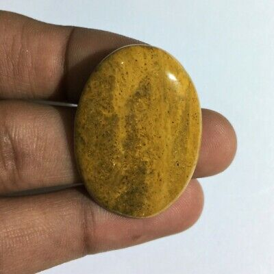 37.8 Cts 100% Natural Camel Jasper Gemstone Cab Top Quality Oval Shape L#2